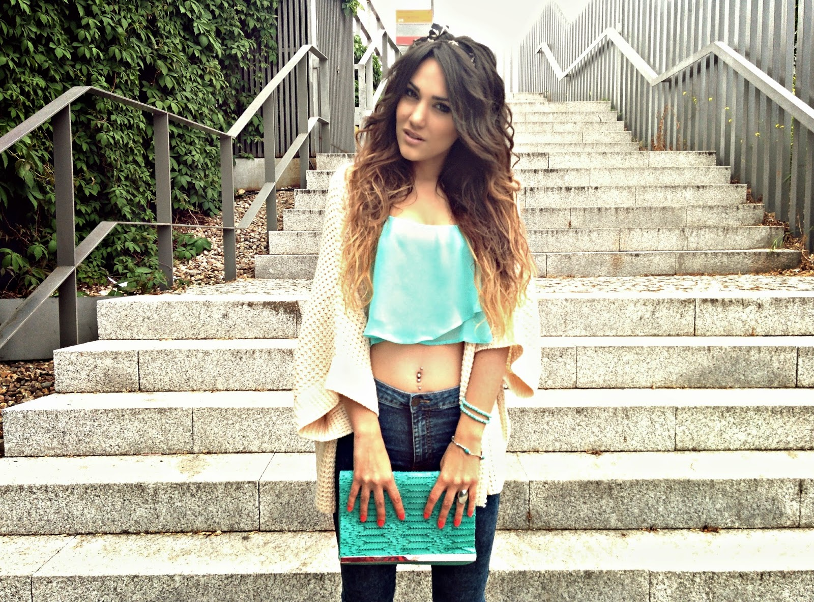 Tendencias Verano Crop Top