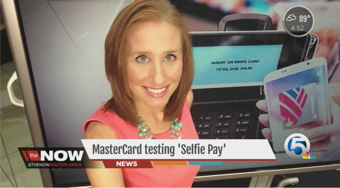 selfie pay master card