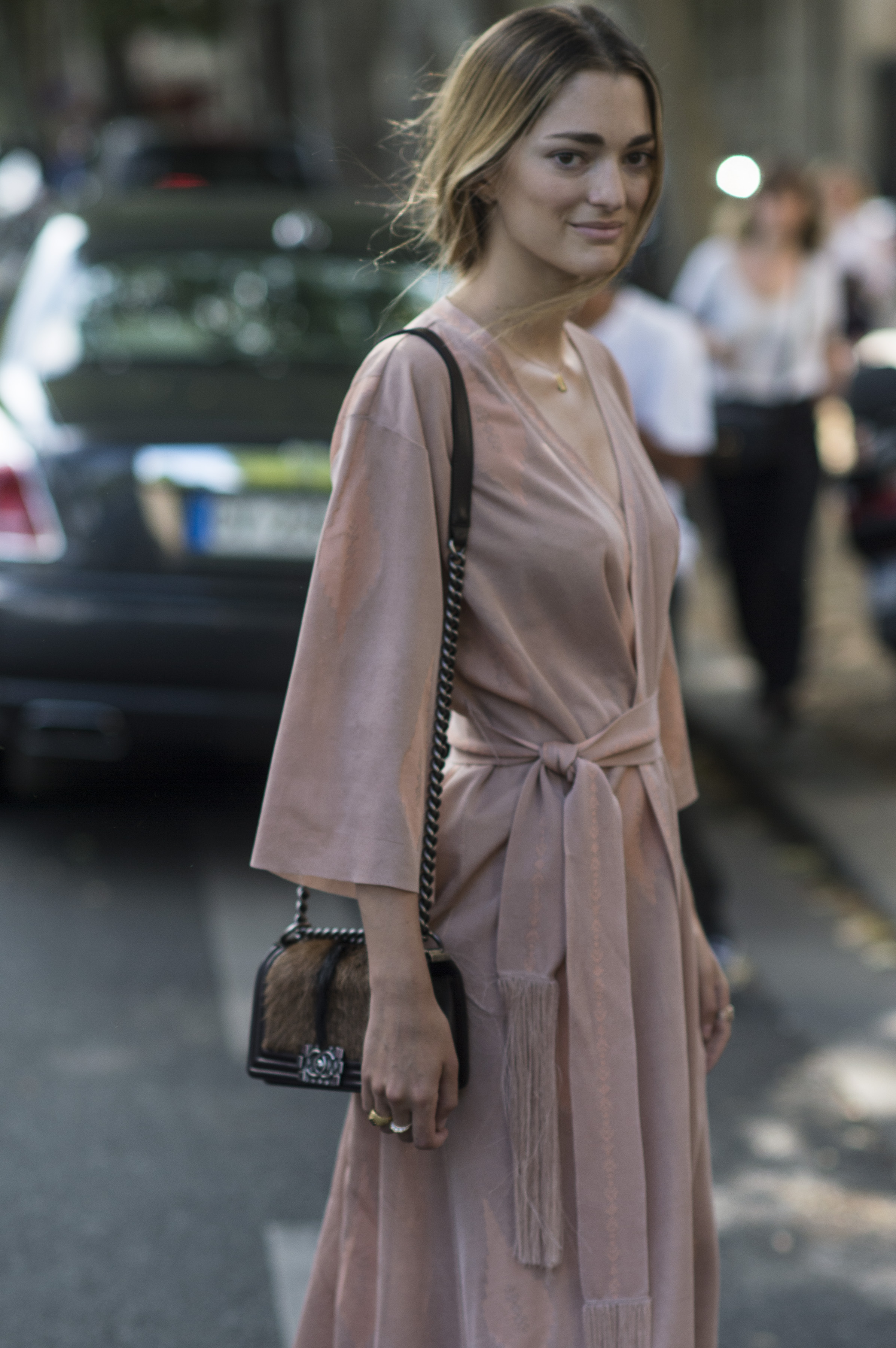 STREET STYLE Paris Fall 2015 Couture - DAY ONE